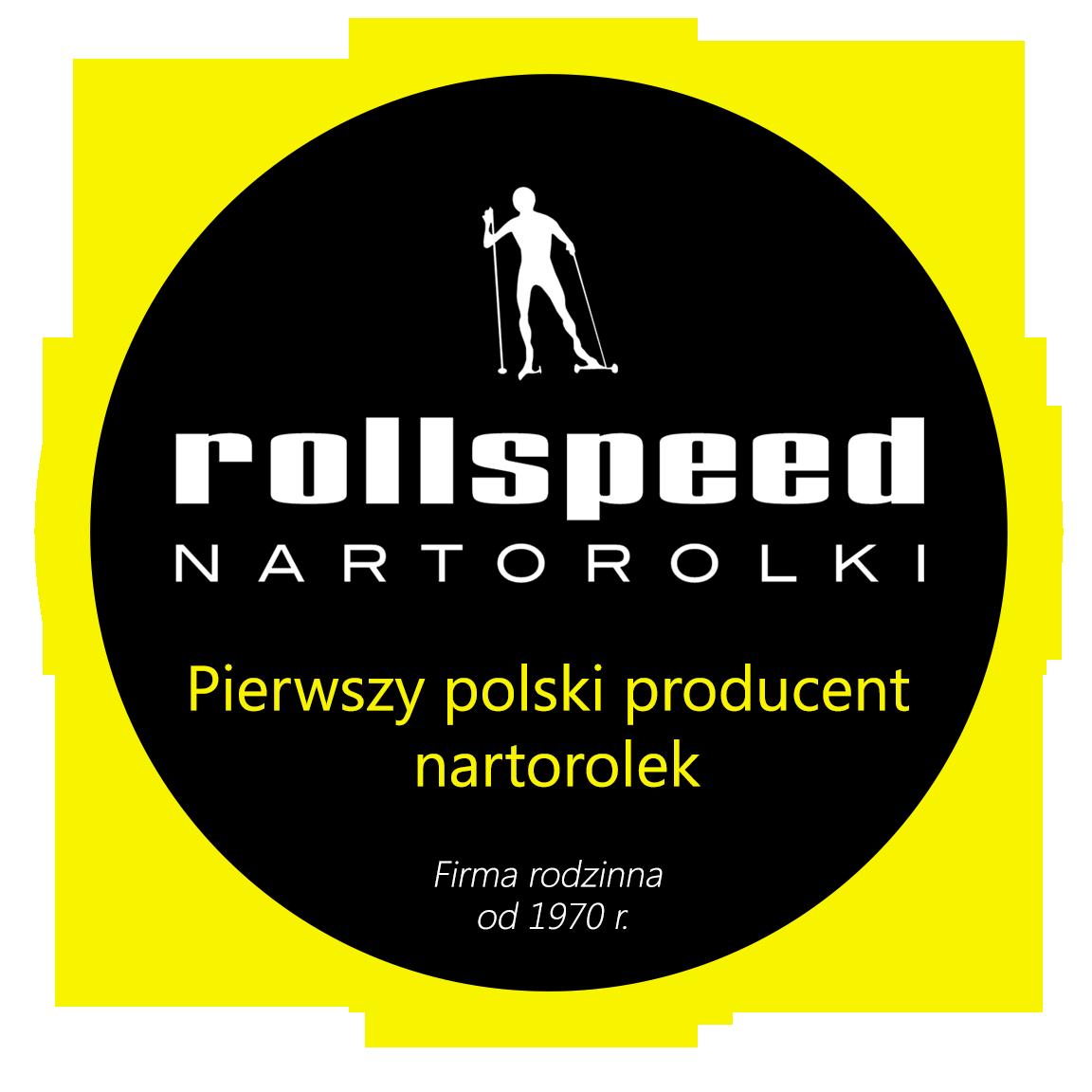 logo round ROLLSPEED _PL - Pierwszy Polski Producent Nartorolek