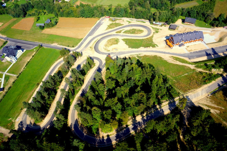 Trasy z drona (2)